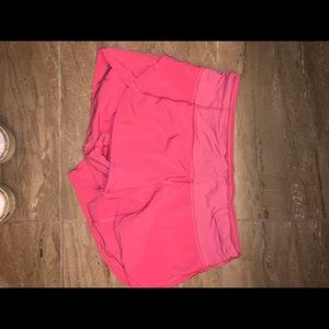 Lulu Lemon Speedy Shorts